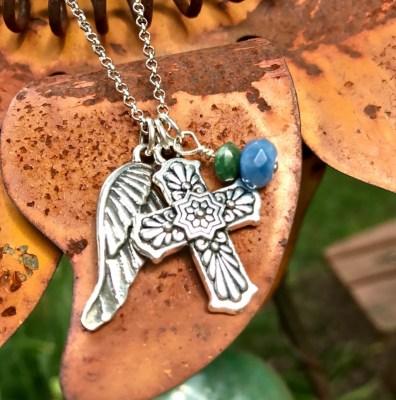 Day of the Dead Necklace, Dia De Los Muertos Jewelry, Sugar